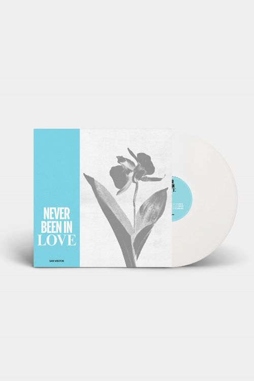 "Never Been In Love EP 12"" White Vinyl by Sam Weston"