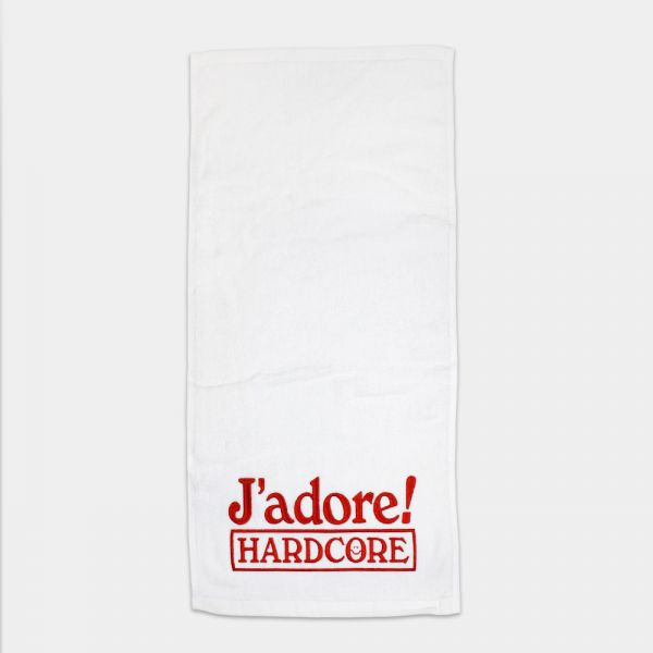 J'ADORE HARDCORE SWEAT TOWEL